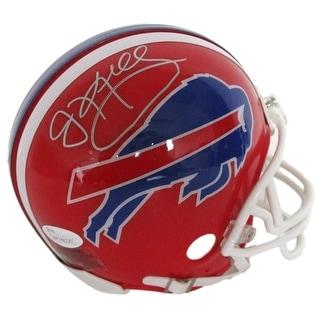 Jim Kelly Signed Buffalo Bills Mini Helmet JSA ITP