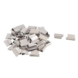 40 Pcs 13x9x4mm Paper Sheet Fastener Clam Clip Dispenser Clips