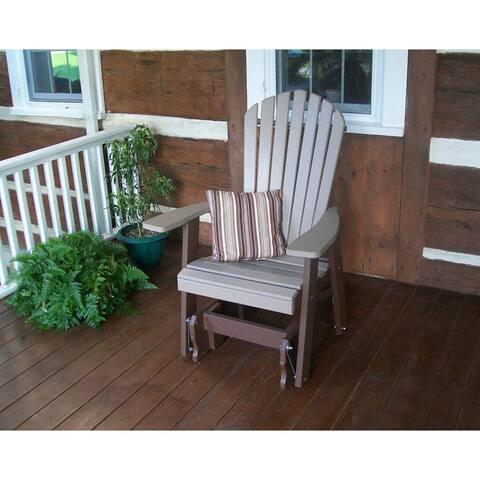 Poly Adirondack Gliding Chair