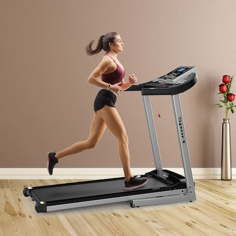 Moda Folding Electric Treadmill for Home Workout
