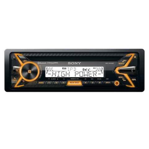Sony MEX-M100BT Marine CD Receiver with Bluetooth & SongPal - Black
