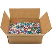 Assorted Shapes & Sizes - Mixed Plastic Beads 5Lb