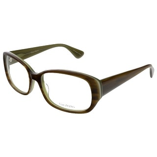Vera Wang VE 04 MO 54 Moss/Tortoise Full Rim Womens Optical Frame
