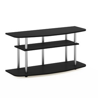 Link to Furinno Frans Turn-N-Tube 3-Tier TV Stand for TV up to 46, Black Oak Similar Items in TV Stands & Entertainment Centers