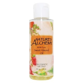 Nature's Alchemy Carrier Oil Sweet Almond 4-ounce