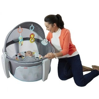 Fisher Price(R) 2-in-1 On-The-Go Baby Dome