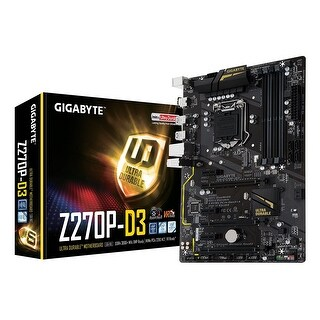 Gigabyte Ga-Z270p-D3 Lga1151 Intel 2-Way Crossfire Atx Ddr4 Motherboard