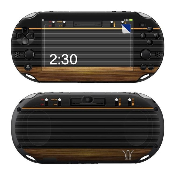 DecalGirl PSV2-WGS Sony PS Vita 2000 Skin - Wooden Gaming System