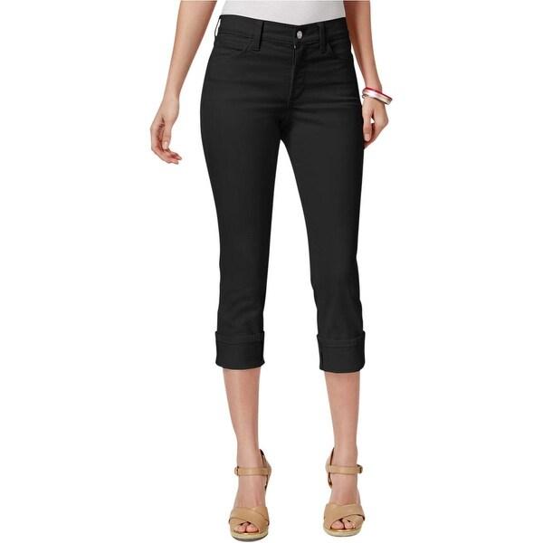 NYDJ Womens Dayla Capri Jeans Denim Mid-Rise