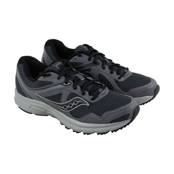 Saucony Cohesion Tr 10 Mens Gray Mesh Athletic Lace Up Running Shoes