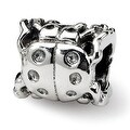 Sterling Silver Reflections Ladybug Bead (4mm Diameter Hole) - Thumbnail 0