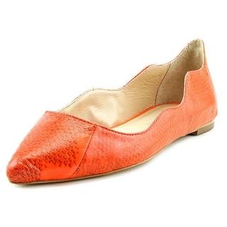 Loeffler Randall Milla Pointed Toe Leather Flats