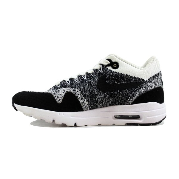 Shop Nike Women's Air Max 1 Ultra Flyknit WhiteBlack Black