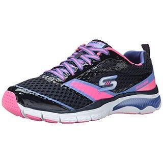 Skechers Womens Infusion Mesh Memory Foam Fashion Sneakers - 5.5 medium (b,m)