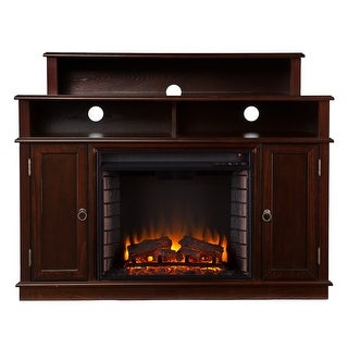 Southern Enterprises FE9391 Lynden Media Fireplace - Espresso
