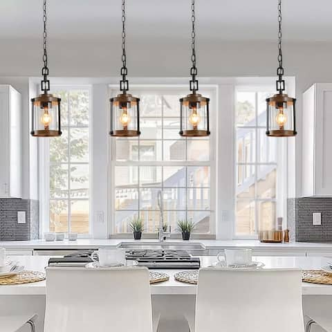 The Gray Barn Horse Hollow 1-light Rustic Pendant Lighting Fixture