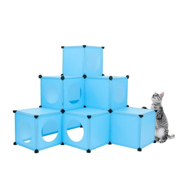 Shop frontpet do it yourself cat house condo diy cat tower tree kit frontpet do it yourself cat house condo diy cat tower tree kit blue solutioingenieria Gallery