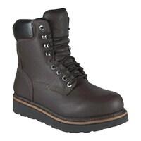 a9db7115f28 Shop Golden Retriever Footwear Men's 7533 Brown Tumbled Waterproof ...