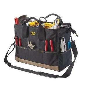CLC 1165 Large BigMouth Tool Tote Bag, 22 Pockets