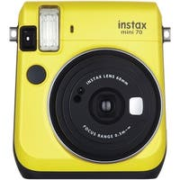 Fujifilm 16496122 Instax(R) Mini 70 Instant Camera (Yellow)
