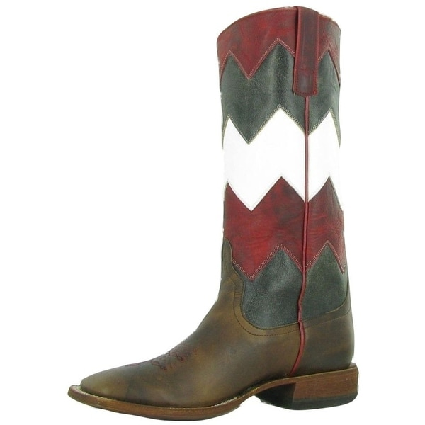Macie Bean Western Boots Womens Cute Gettin Ziggy With It Moka