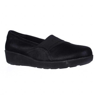 Easy Spirit Kaleo Slip On Comfort Flats, Black/Black (2 options available)