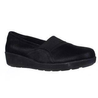 Easy Spirit Kaleo Slip On Comfort Flats Black