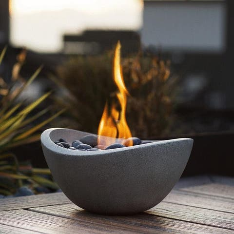 Wave Table Top Fire Bowl II - Wave Fire Bowl 2