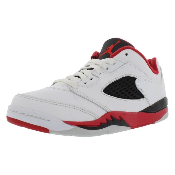 0b081689b67e Shop Jordan Retro 5 Low Basketball Preschool Boy s Shoes - 12 m ...