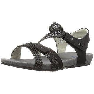 JBU Womens Loreta Open Toe Casual Strappy Sandals