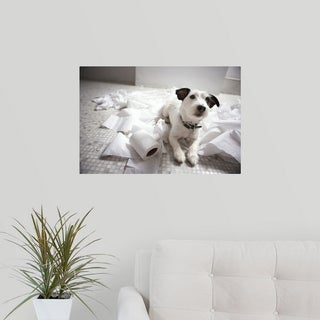 Poster Print entitled Jack russell terrier. (5 options available)