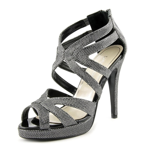 Caparros Priscilla Women Black Sandals