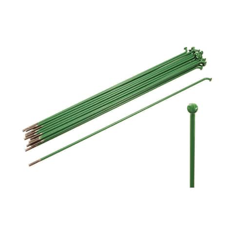 Ws 14g ss 188mm green 2.0mm straight spokes