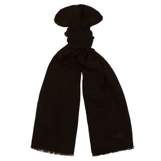 Moschino MOPSM0001/25 Black Solid Scarf - 26-72