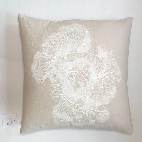 Jiti Taquicardia Rainforest Abstract Floral Lumbar Pillow - 19 x 27
