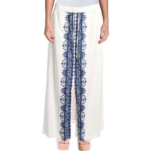 aed582f77e Shop Lauren Ralph Lauren Womens Orela Maxi Skirt Linen Woven - Free  Shipping On Orders Over  45 - Overstock - 27103302