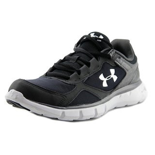 Under Armour UA GPS VELOITY RN GT Youth Round Toe Synthetic Black Running Shoe