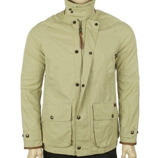 Polo Ralph Lauren NEW Beige Mens Size XL Full Zip Twill Parka Jacket