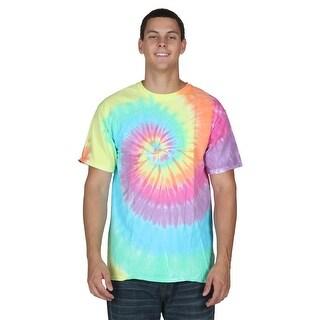Pastel Spiral Tie-Dye T-Shirt