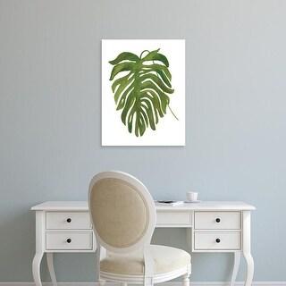 Easy Art Prints Wild Apple's 'Tropical Palm II' Premium Canvas Art