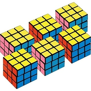 Amscan Mini Cubes Party Favors Cube Puzzle (6 Pack)