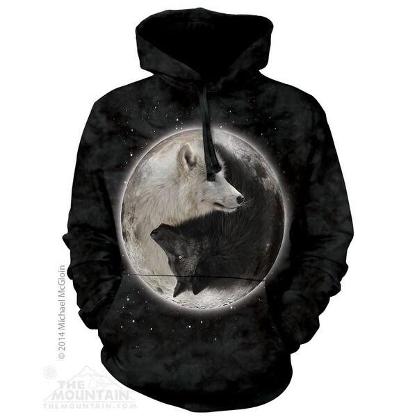 Yin Yang Wolves Hoodie Adult Hoodie