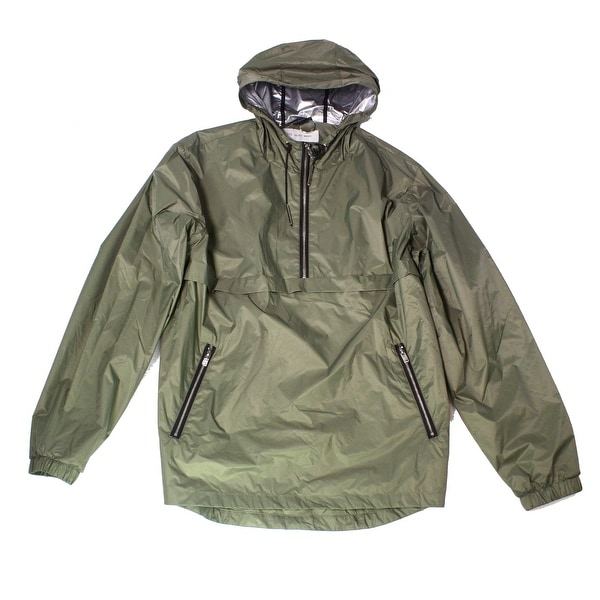 9e69fd60a Shop The Very Warm Green Mens Size 2XL Pullover Windbreaker Jacket - Free  Shipping Today - Overstock - 27787036