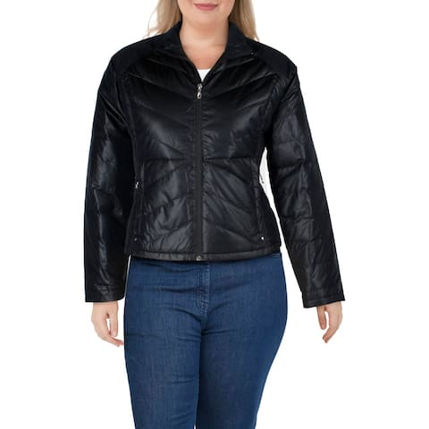 Spyder Womens Solitude Down Coat Insulated Cropped