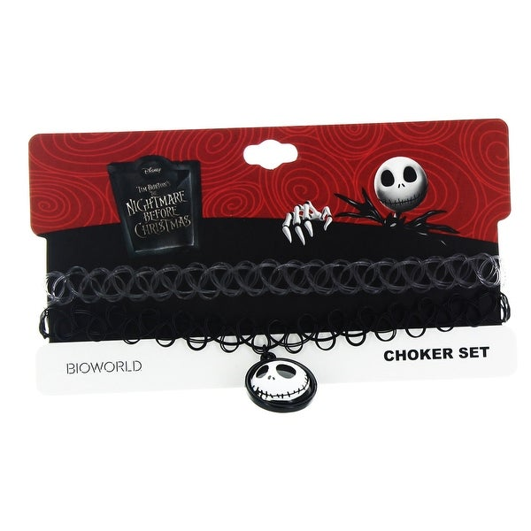 Nightmare Before Christmas Choker Necklace: Jack - multi