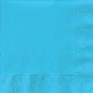 """Pastel Blue - Luncheon Napkins 6.5""""X6.5"""" 50/Pkg"""
