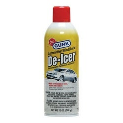 Gunk DE1 Automotive De-Icer, 12 Oz