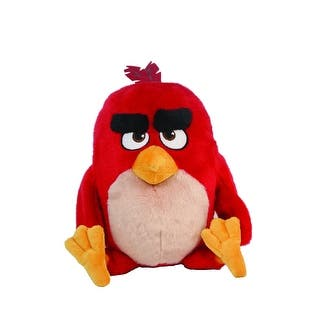"Angry Birds Movie 11"" Talking Plush: Red