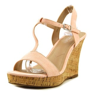 Charles By Charles David Libra Open Toe Synthetic Wedge Heel