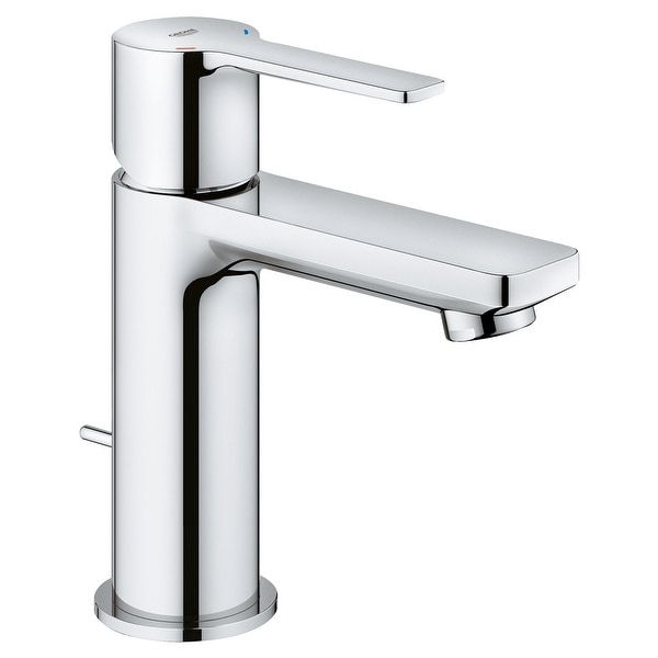 Grohe 23 824 A Lineare 1.2 GPM Deck Mounted XS-Size Bathroom Faucet with Pop-Up Drain Assembly